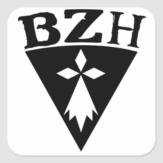 Sticker Carré BZH Breizh Bretagne