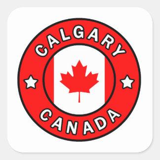 Sticker Carré Calgary Canada