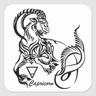 Sticker Carré Capricorne