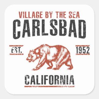 Sticker Carré Carlsbad