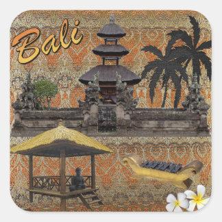 Sticker Carré C'est Bali