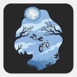 Sticker Carré Clair de lune Hangin