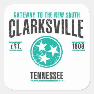 Sticker Carré Clarksville