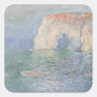 Sticker Carré Claude Monet | Etretat
