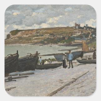 Sticker Carré Claude Monet | Sainte-Adresse, 1867
