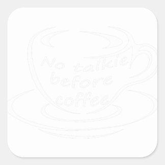 Sticker Carré coffee23