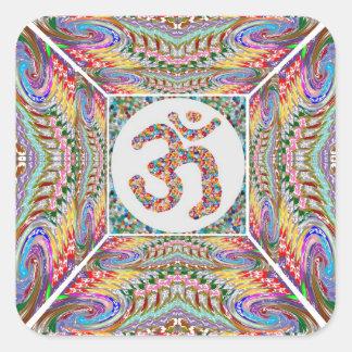 Sticker Carré Collection de bijou d'incantation de l'OM