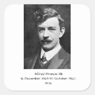 Sticker Carré Colline 1906 d'Alfred Francis
