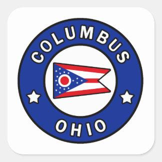 Sticker Carré Columbus Ohio