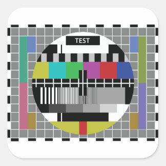 Sticker Carré Common Essai PAL TV