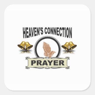 Sticker Carré Connexion de cieux de Bells