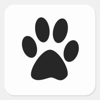 Sticker Carré Copie de chien