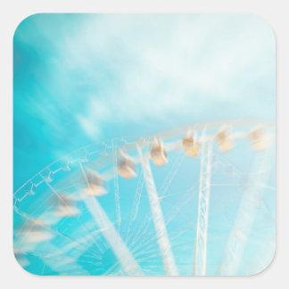 Sticker Carré Dans le ciel