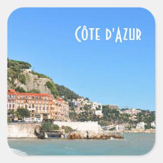 Sticker Carré d'Azur de Côte à Nice, France