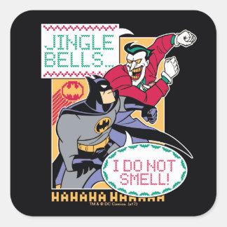 Sticker Carré Des tintements du carillon de Batman  , je ne sens