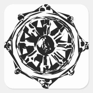 Sticker Carré dharma