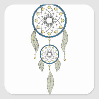 Sticker Carré Dreamcatcher