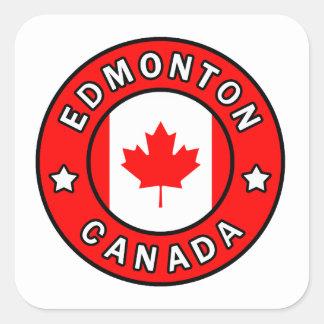 Sticker Carré Edmonton Canada