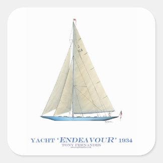 Sticker Carré Effort 1934