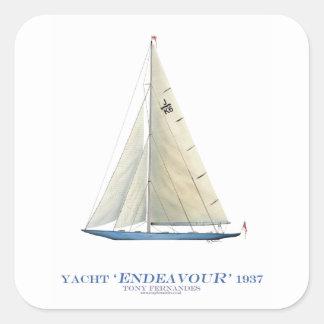 Sticker Carré Effort 1937
