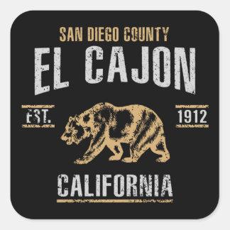 Sticker Carré EL Cajon