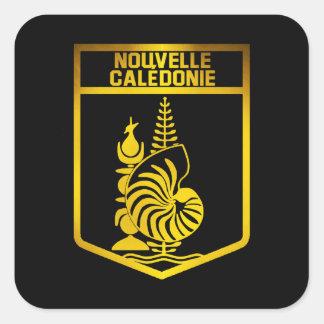 Sticker Carré Emblème de la Nouvelle-Calédonie