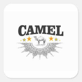 Sticker Carré étoiles du chameau