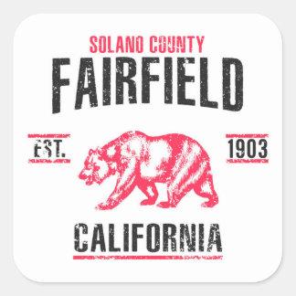 Sticker Carré Fairfield