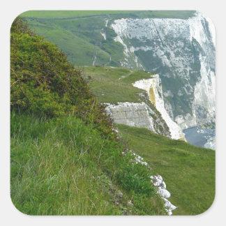 Sticker Carré Falaises blanches de Douvres