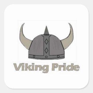 Sticker Carré Fierté de Viking
