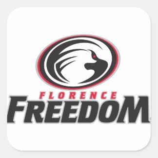 Sticker Carré Florence_Freedom