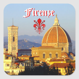 Sticker Carré Florence - Santa Maria del Fiore