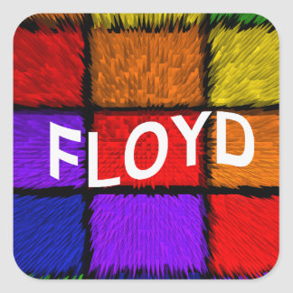 STICKER CARRÉ FLOYD