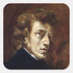 Sticker Carré Frederic Chopin 1838
