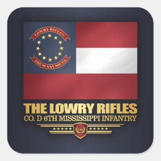 Sticker Carré Fusils de Lowry