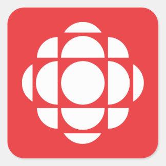Sticker Carré Gemme de CBC/Radio-Canada