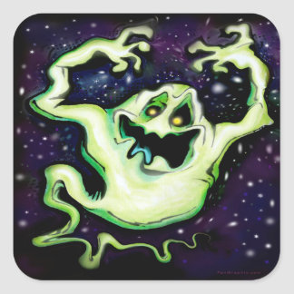 Sticker Carré Ghosty