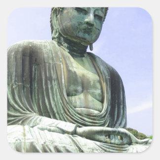 Sticker Carré Grand Bouddha