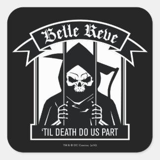 Sticker Carré Graphique de Reve Reaper de belle du peloton | de