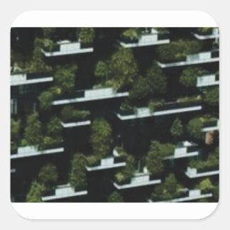 Sticker Carré grenier de jungle