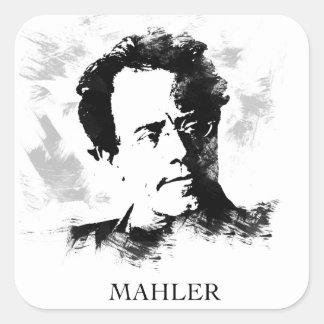 Sticker Carré Gustav Mahler