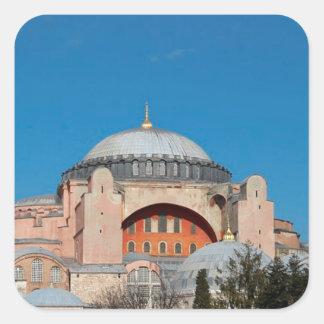 Sticker Carré Hagia Sophia Turquie