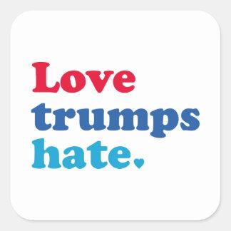 Sticker Carré Haine d'atouts d'amour