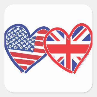 Sticker Carré Harry et Meghan
