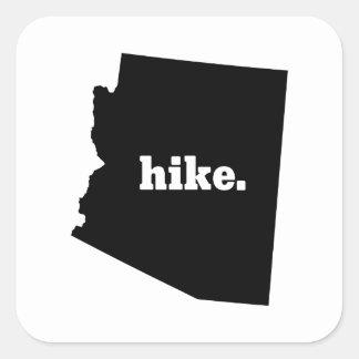 Sticker Carré Hausse Arizona