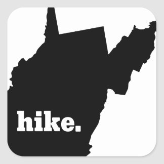 Sticker Carré Hausse la Virginie Occidentale