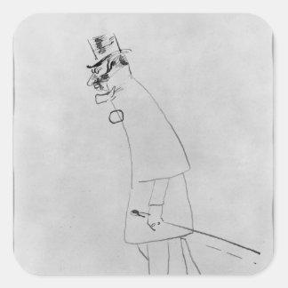 Sticker Carré Henri De Toulouse-Lautrec | un docteur de Chambre
