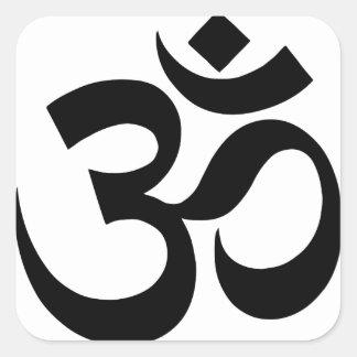 Sticker Carré hindu3