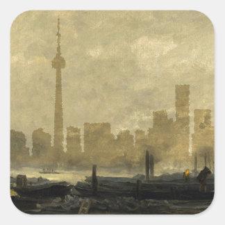 Sticker Carré Horizon 41 de Toronto