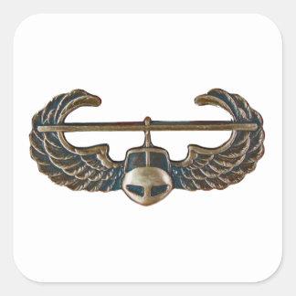 Sticker Carré Infanterie de l'armée américaine - Aéromobile